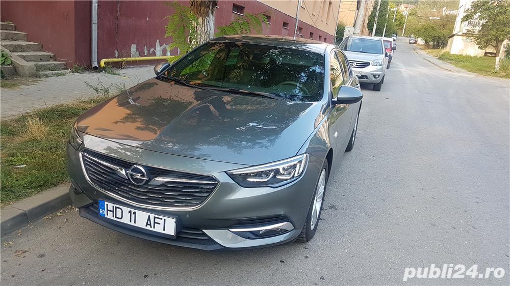 Opel Insignia Grand Sport, an 2018, 1.5 benzina, 165 Cp