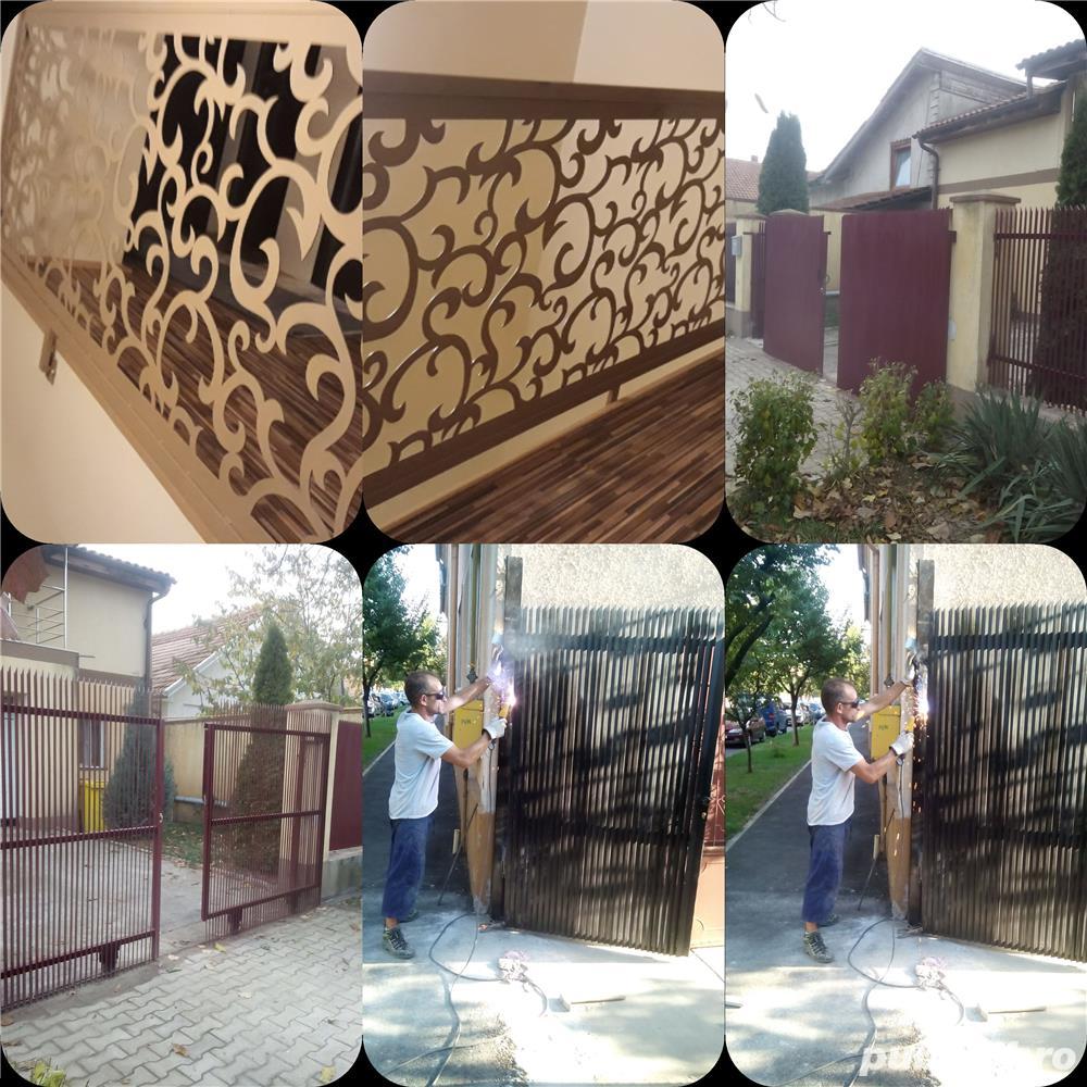 executam garduri, balustrada,usi, metalice, Timisoara