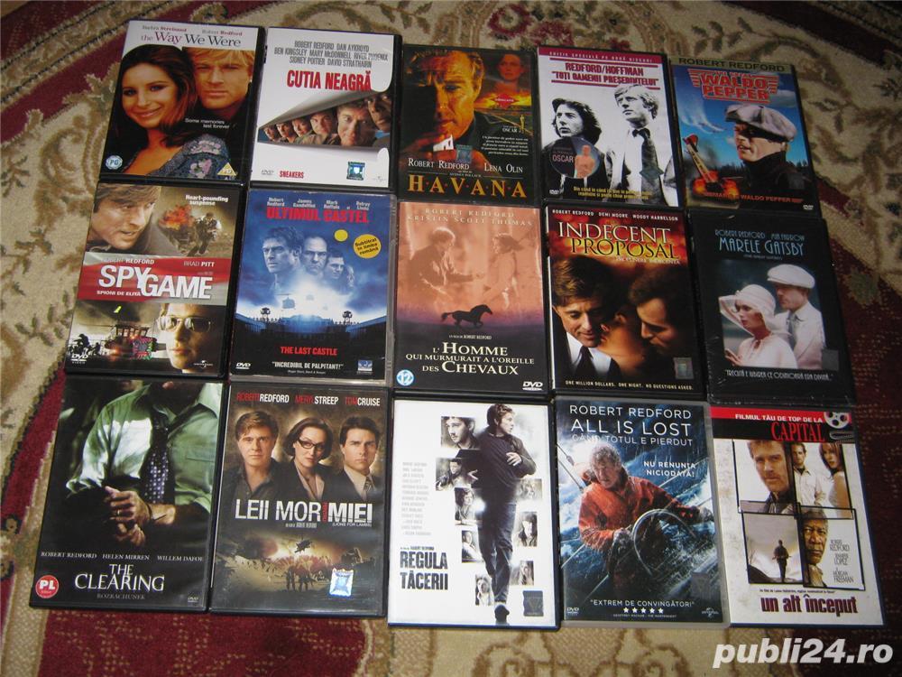ROBERT REDFORD,18 DVD ORIGINALE,FILME DE OSCAR,IN ROMANA,COLECTIE DE LUX,INCEPUTURI PANA IN PREZENT