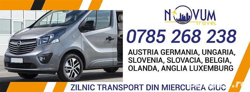 Transport Miercurea Ciuc Austria Germania Ungaria Belgia Olanda Anglia Slovenia Slovacia Elvetia
