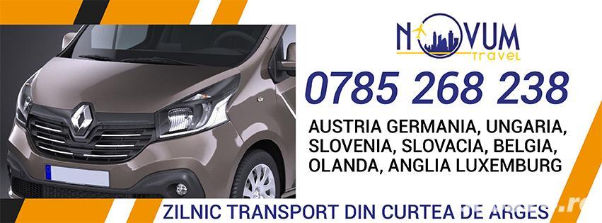 Transport Curtea de Arges Austria Germania Ungaria Belgia Olanda Anglia Slovenia Slovacia Elvetia