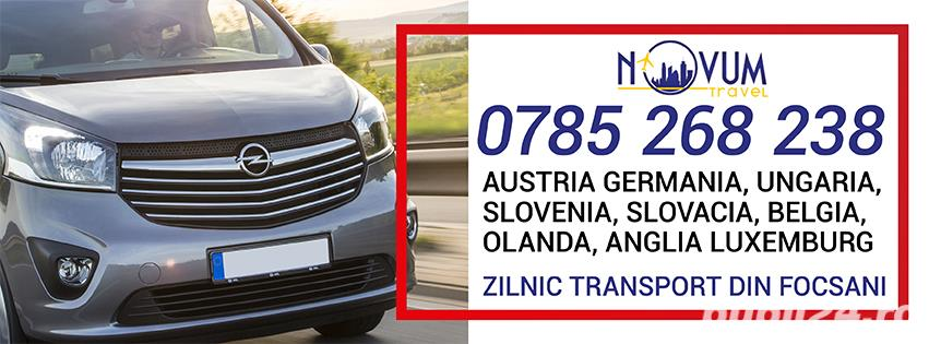 Transport Focsani Austria Germania Ungaria Belgia Olanda Anglia Slovenia Slovacia Elvetia Luxemburg