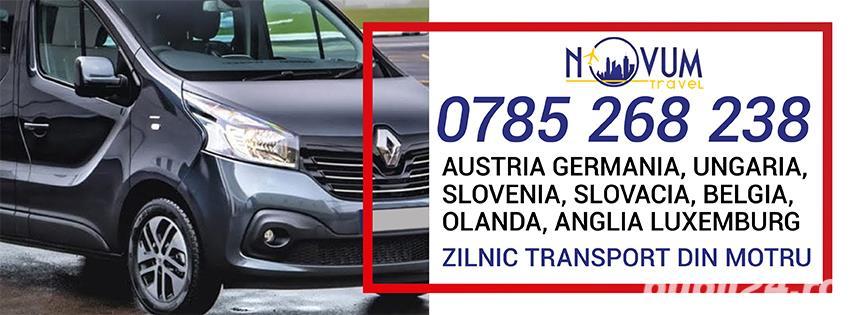 Transport Motru Austria Germania Ungaria Belgia Olanda Anglia Slovenia Slovacia Elvetia Luxemburg