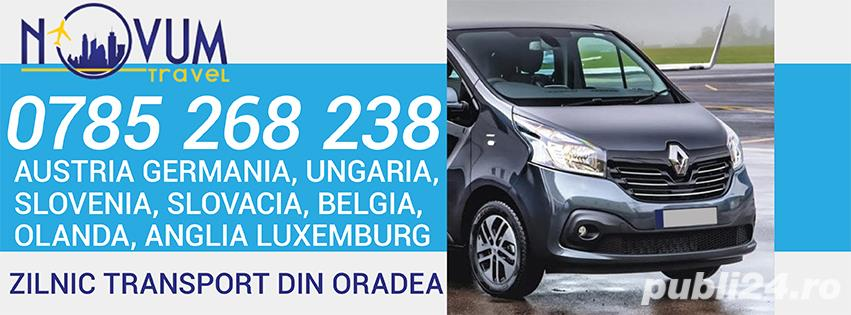Transport Oradea Austria Germania Ungaria Belgia Olanda Anglia Slovenia Slovacia Elvetia Luxemburg