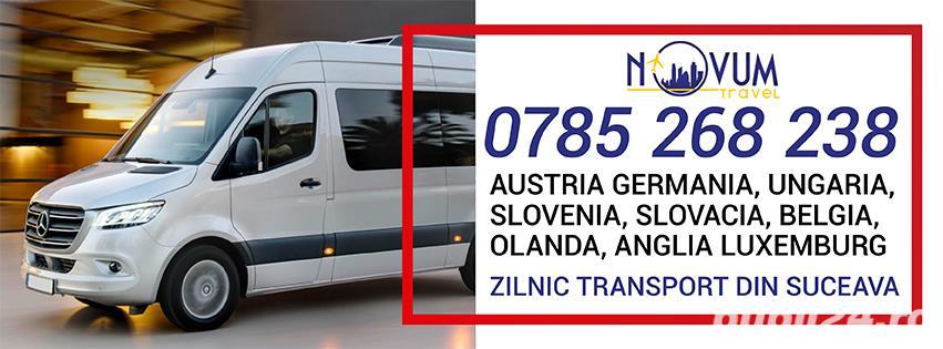 Transport Suceava Austria Germania Ungaria Belgia Olanda Anglia Slovenia Slovacia Elvetia Luxemburg