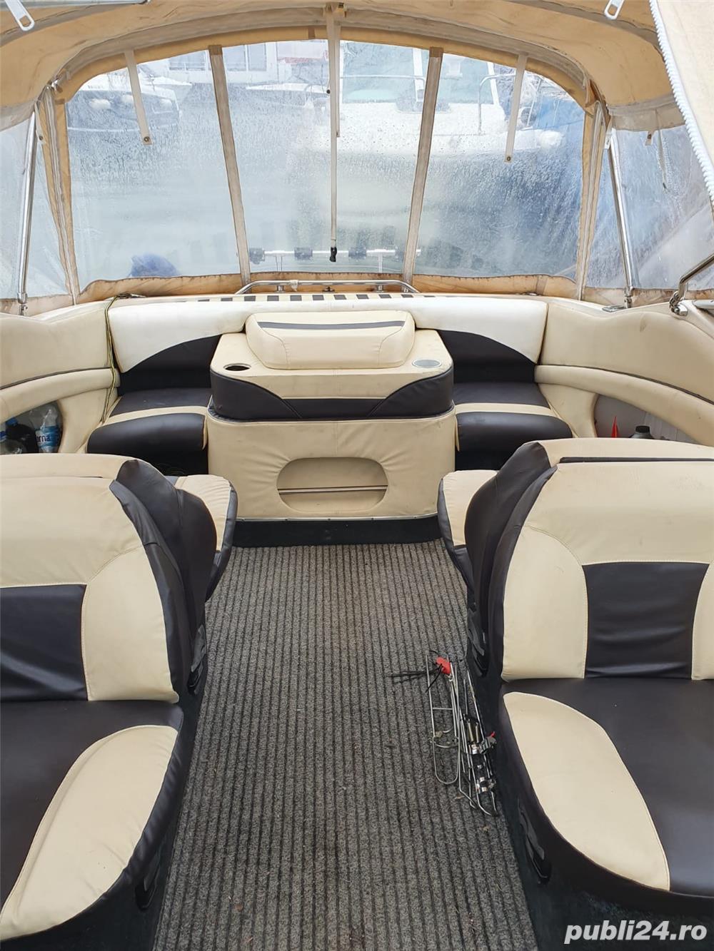 Barca Bayliner cu motor Volvo 200 cai inboard