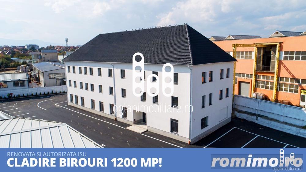Cladire renovata 1200 mp birouri si alte destinatii