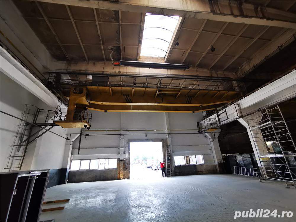 Inchiriez hala industriala Baia Mare cu pod rulant