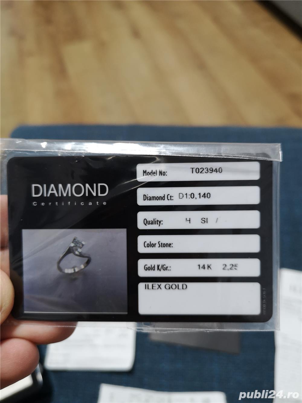 Vand inel diamant