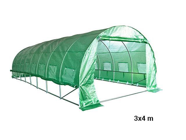 Solar de Grădină 3×4 m Cortis, Solarii Noi de Vanzare, Transport Gratuit