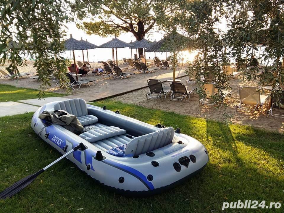 Intex barcă gonflabilă Excursion 5 cu vâsle și pompă - 5 persoane