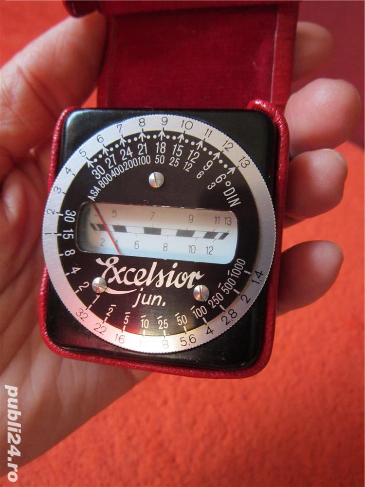 vintage exposure meter,light meter-Excelsior Junior-made Germany'50s