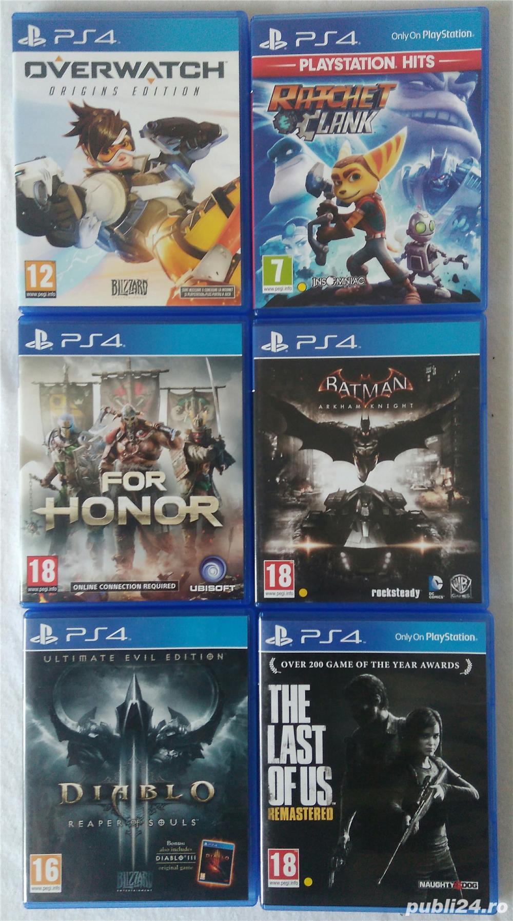 Jocuri PS4: Crew2, Spiderman, Homefront, Inpatient etc.