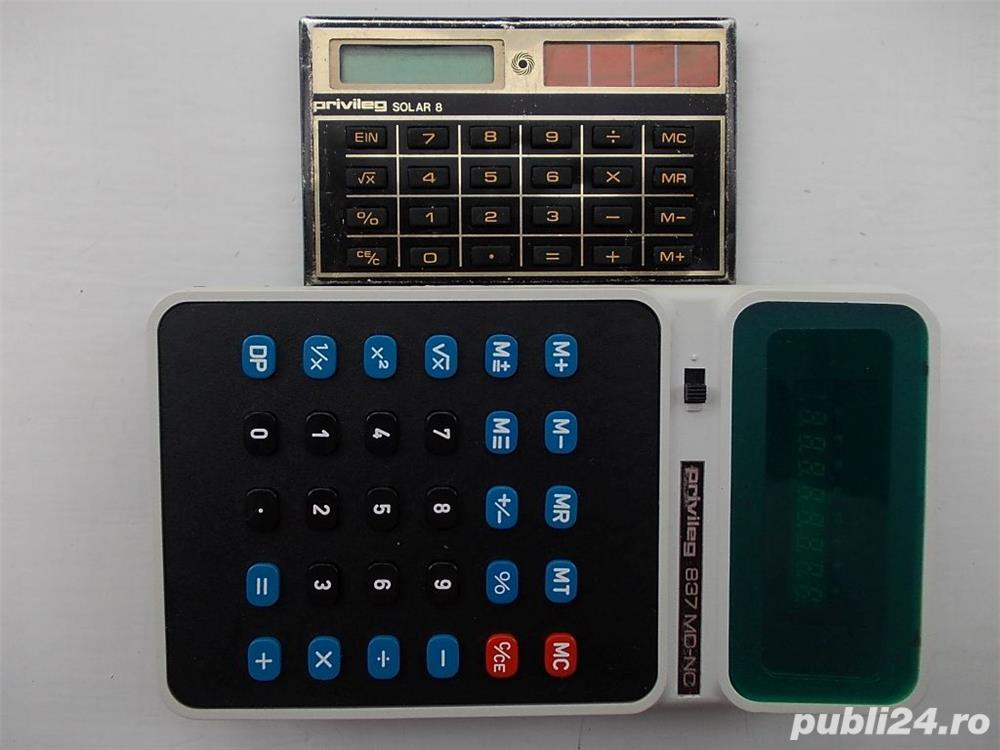 Calculator PRIVILEG 837 MD-NC si SOLAR 8
