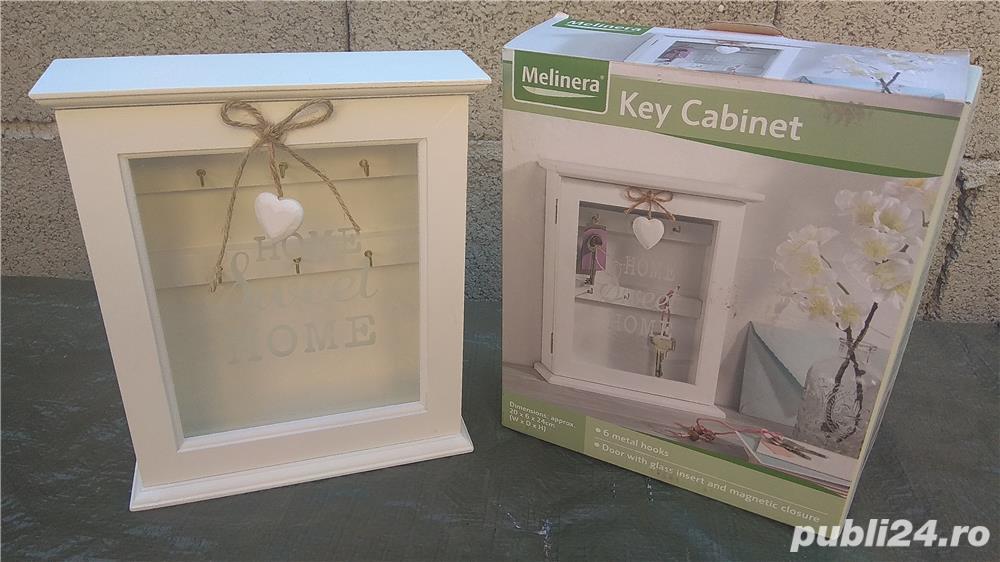Cutie dulap cabinet suport chei cârlig agățător cuier key