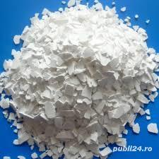 Vand clorura de calciu solida,sac 25 kg.