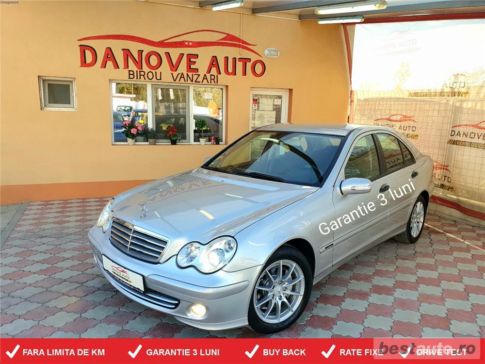 Mercedes C180,GARANTIE 3 LUNI,BUY BACK,RATE FIXE,Motor 1800 Cmc,Automat,Facelift.