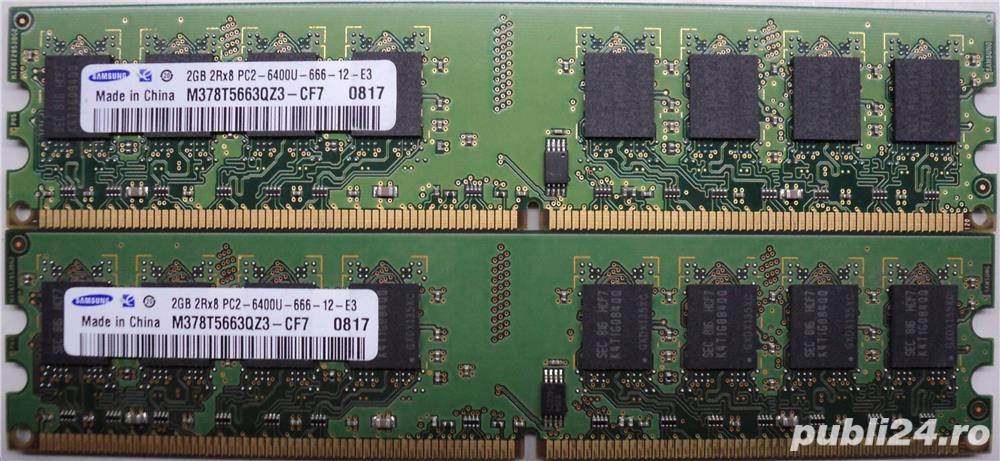 Kit Rami PC Samsung 2x2Gb DDR2 PC2 6400