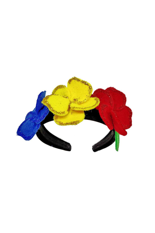 Coronita tricolora handmade