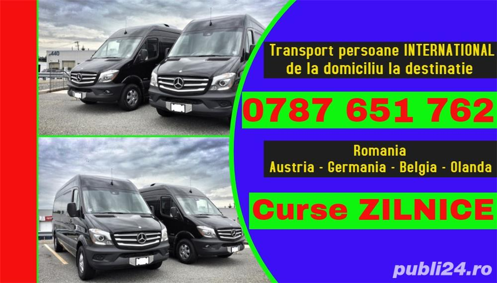 transport persoane Alba Iulia Romania Austria Germania Belgia Olanda plecari zilnice la adresa curse
