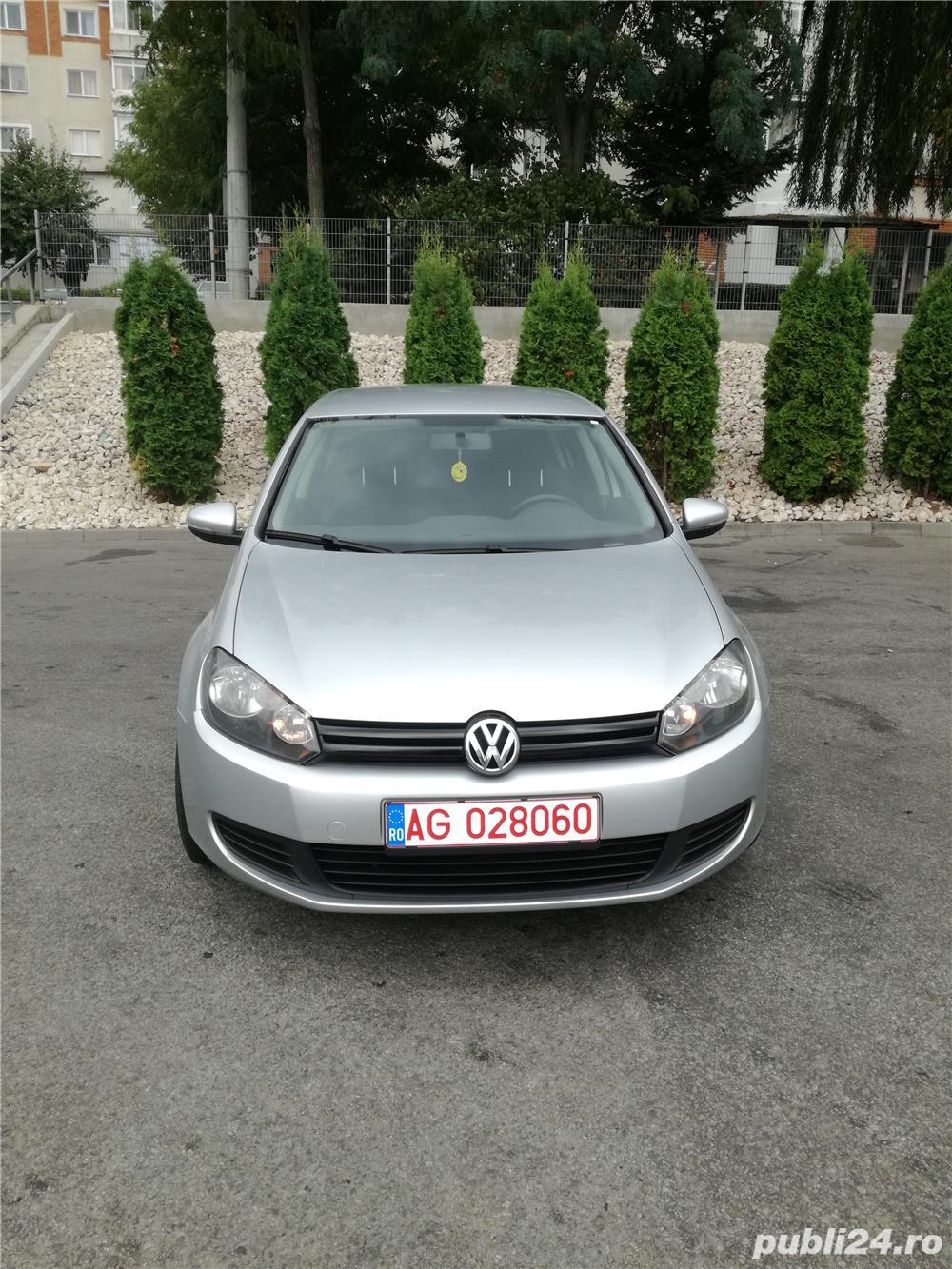 VW Golf VI 1.6TDI BlueMotion, an 2012, carte service, import Germania, 105 CP