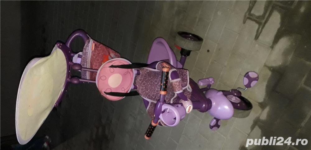 Vand Tricicletă Fisher Royal 157 violet-roz
