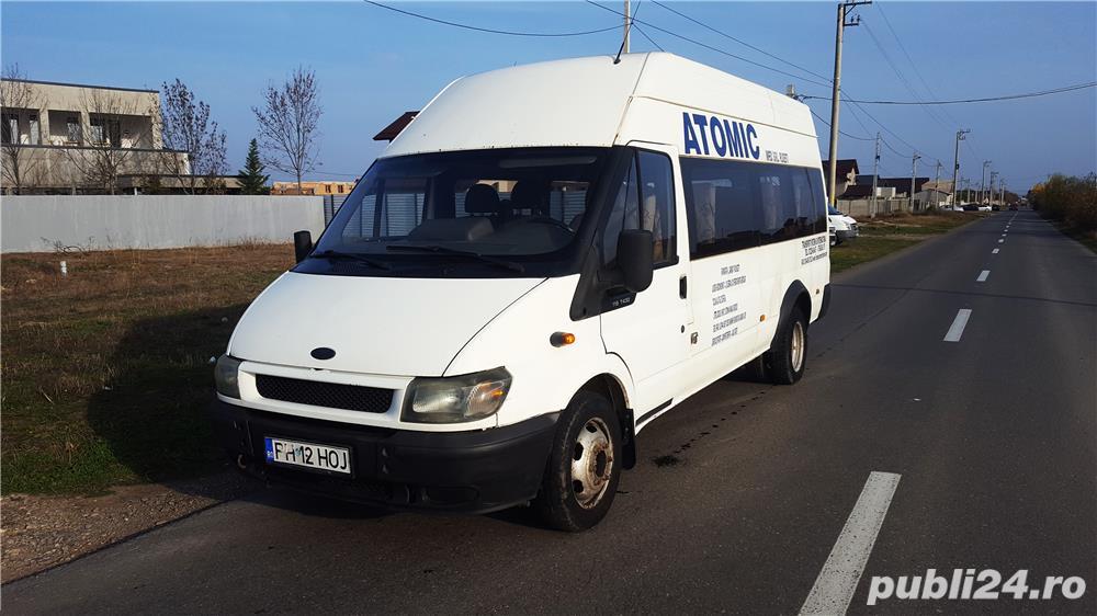 Ford Transit 15+1 locuri, 2005, 2.4 TDCI, 115 cp.