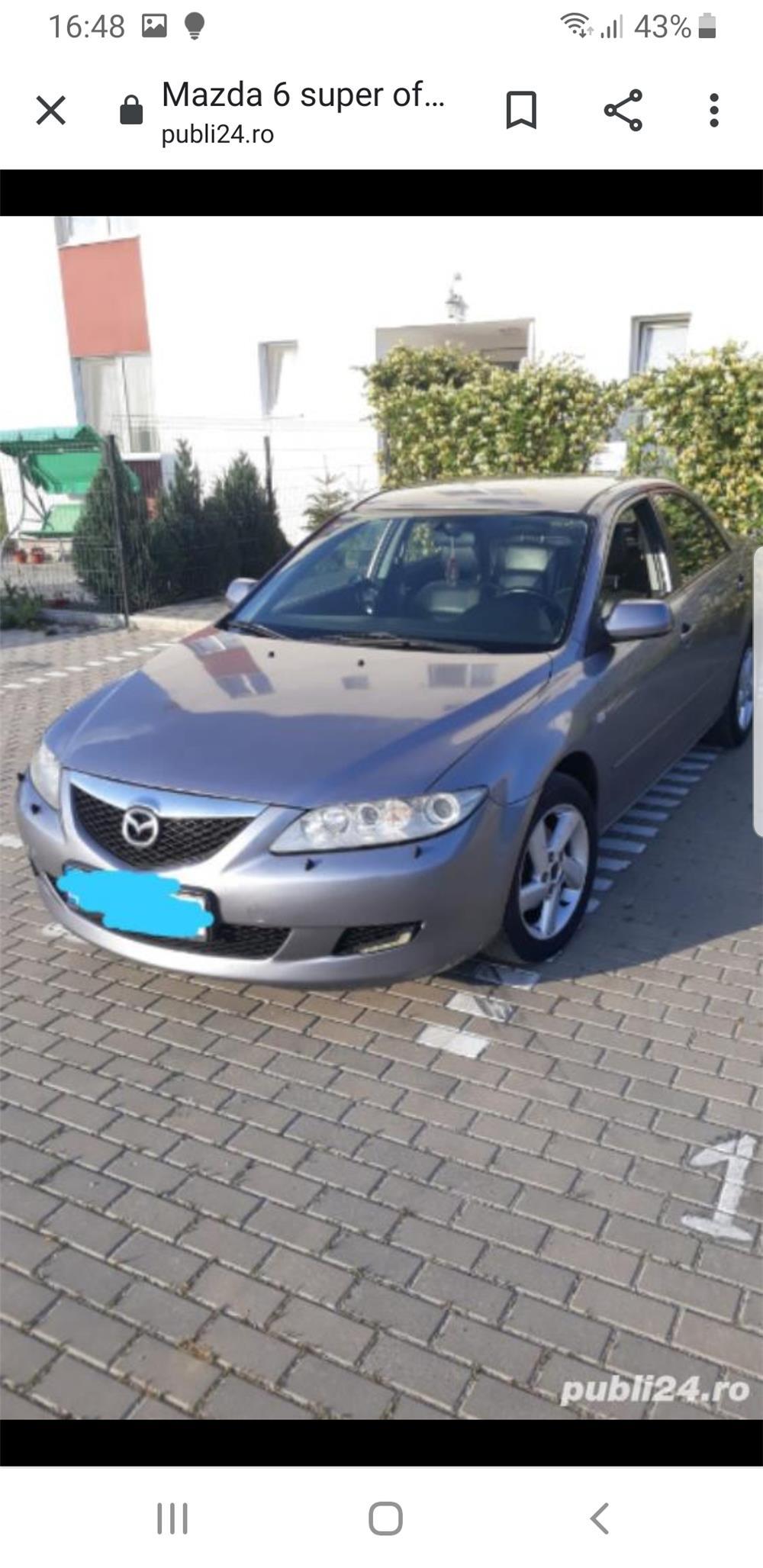 Mazda 6 super oferta