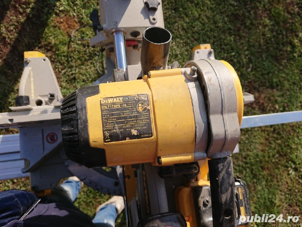 Debitator pentru lemn DeWalt + STAND