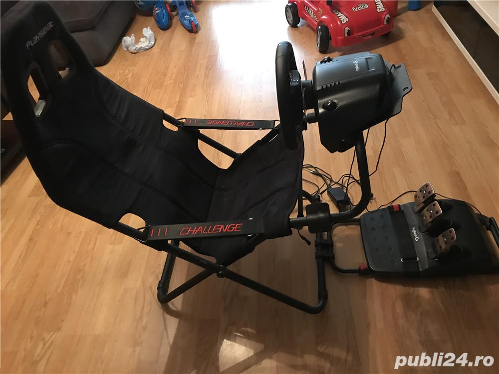 Playseat + Logitech G29 Playstation 4/pc