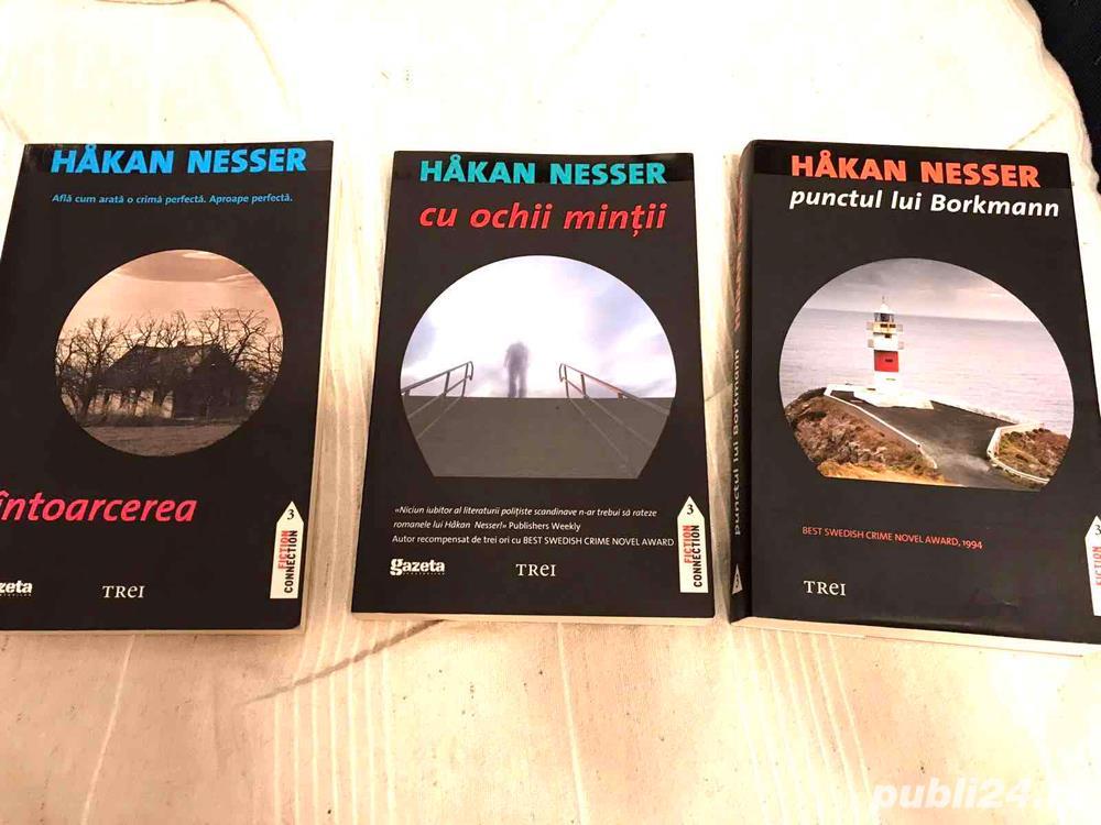 Hakan Nesser - Intoarcerea, Cu ochii mintii, Punctul lui Borkmann