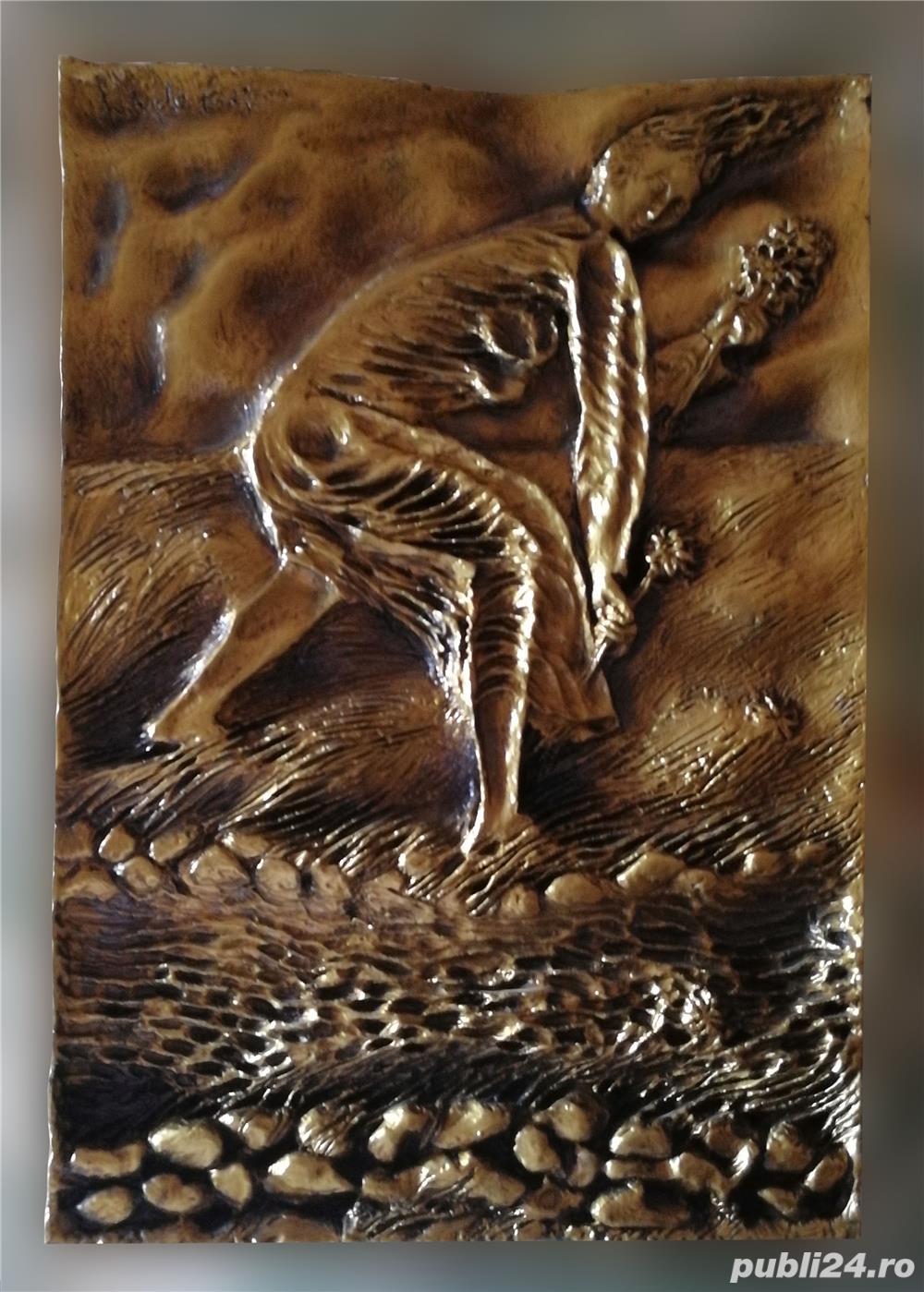 Sulptură din Bronz de PERICLE FAZZINI - MATELDA Ediție Limitată 1980