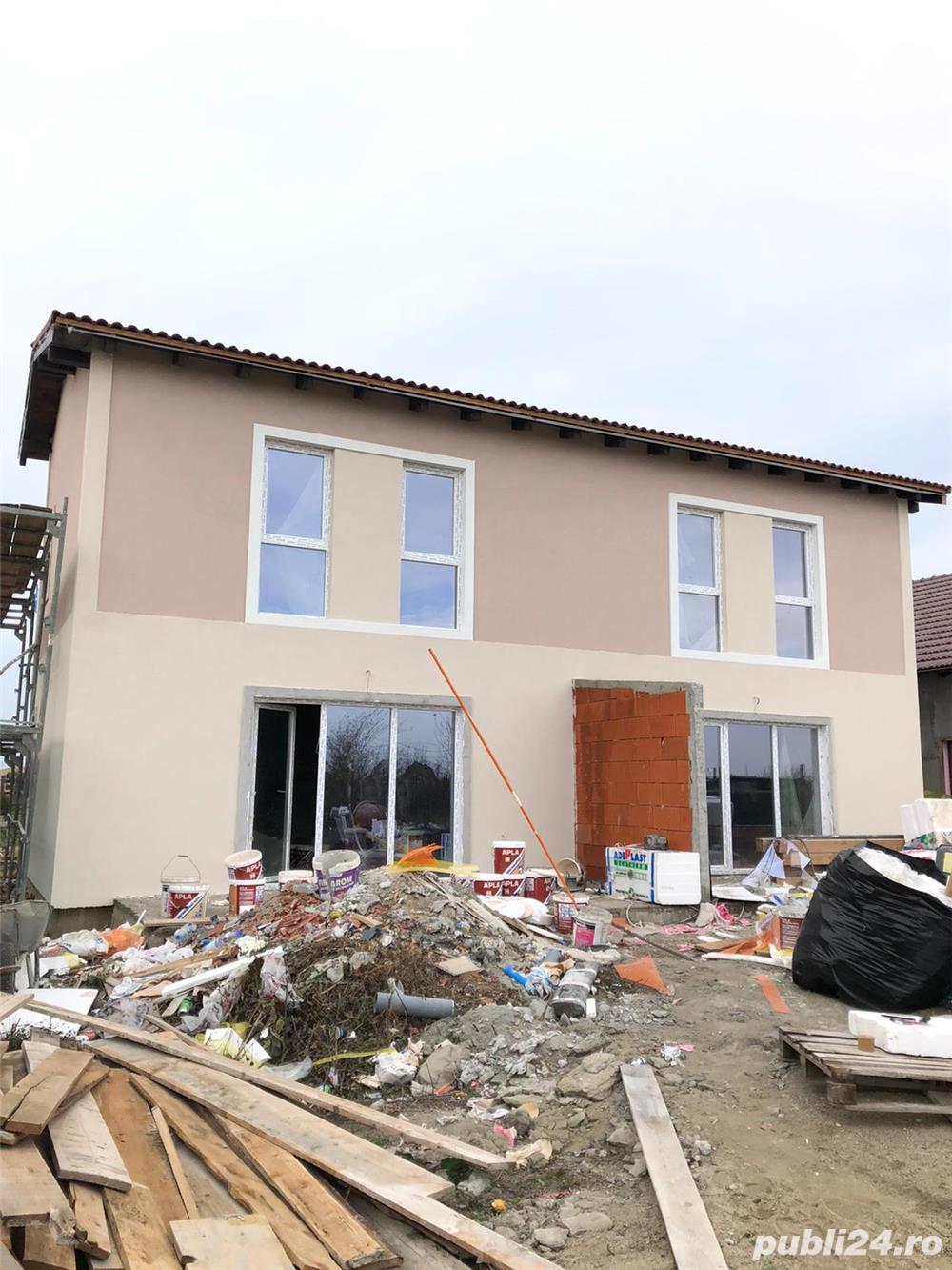 1/2 duplex in Dumbravita 92990 euro finalizat