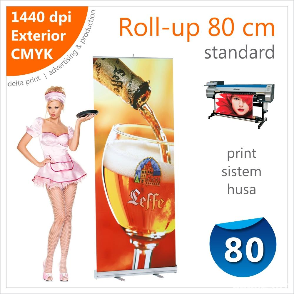 Roll-up 80 x 200 cm Standard – 125 lei