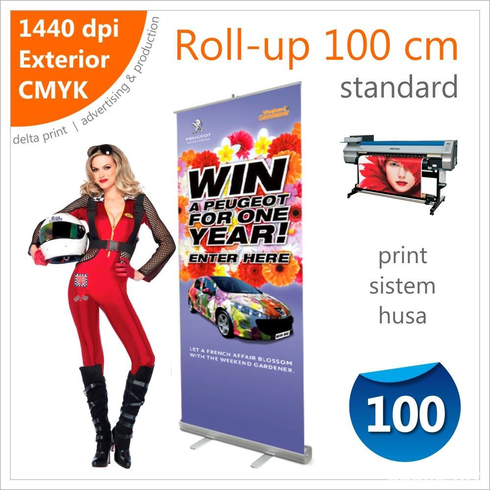 Roll-up 100 x 200 cm Standard – 175 lei