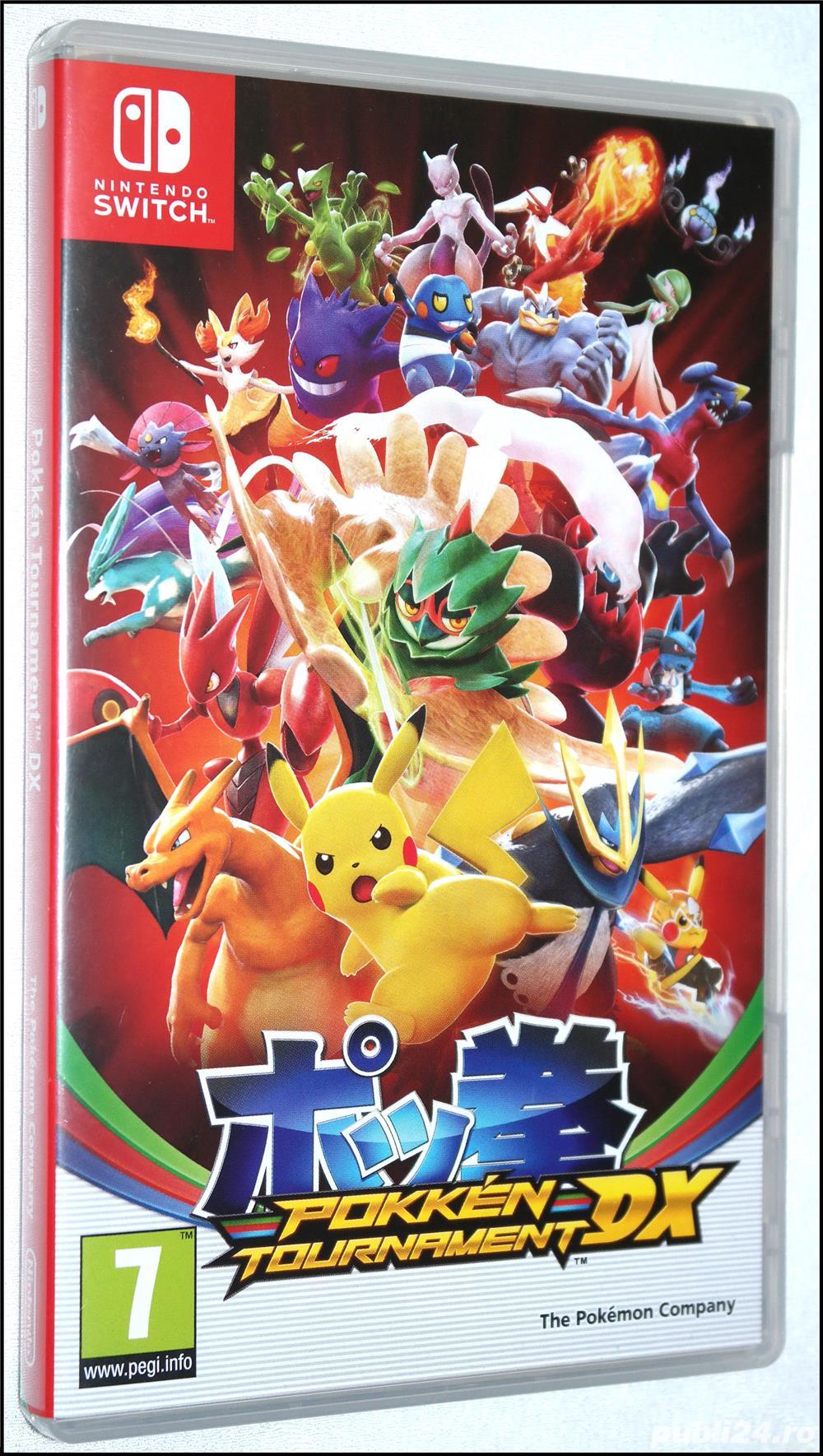 Joc Pokken Tournament DX pentru Nintendo Switch Pokemon