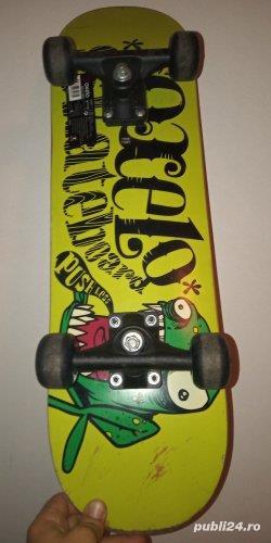 Placă de skateboard.
