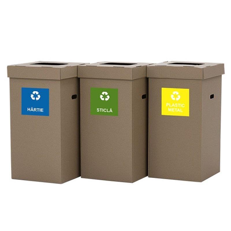 Coșuri de gunoi ecologice