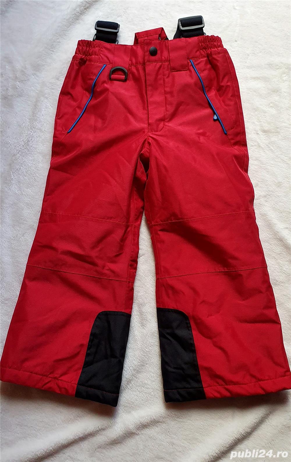 Vând pantaloni de ski noi,  măr 98/104