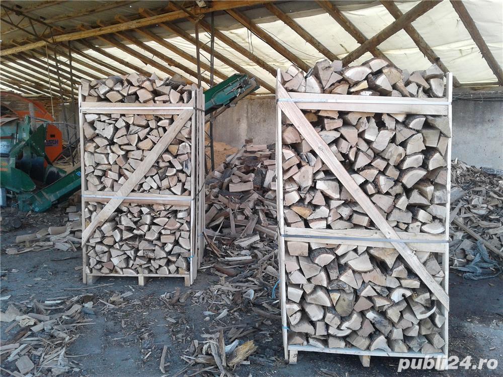 Lemn de foc paletizat stejar