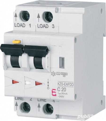 Siguranta AFDD+ protectie incendiu cauzat de arc electric 20A, 10Ka,tip A,curba C