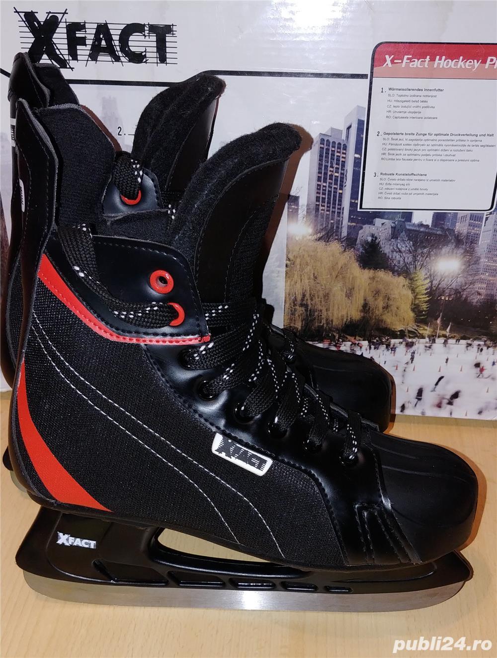 Vand patine gheata X-Fact hockey Pro - marimea  41