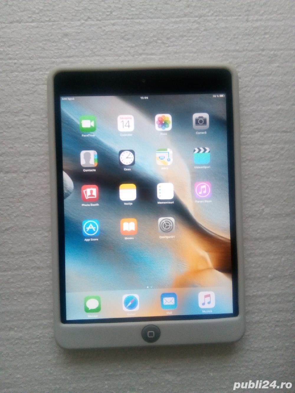 Vând Apple iPad Mini cu slot de SIM