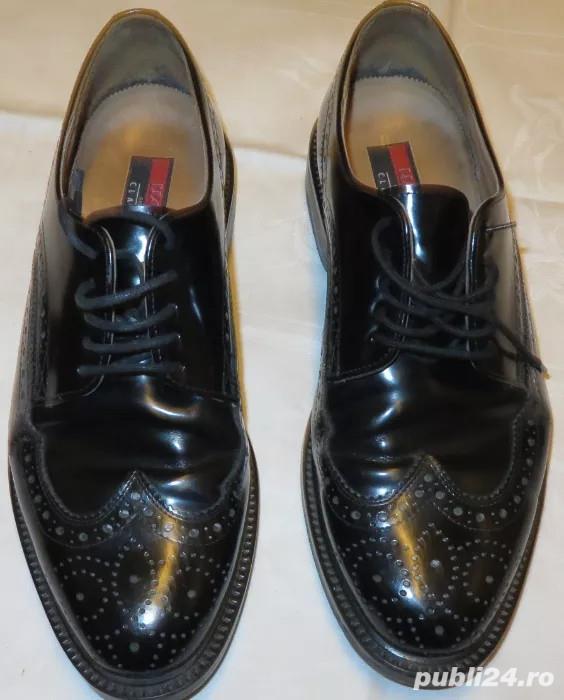 Pantofi piele exterior/interior Lloyd Classic by Hudson marimea 43