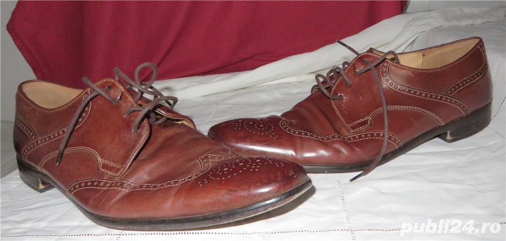 Pantofi piele exterior/interior Lloyd Classic marimea 45