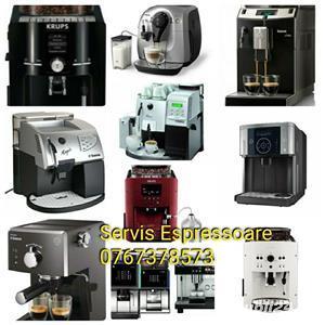 Reparații aparate cafea espressoare RIDICARE DE LA DOMICILIU