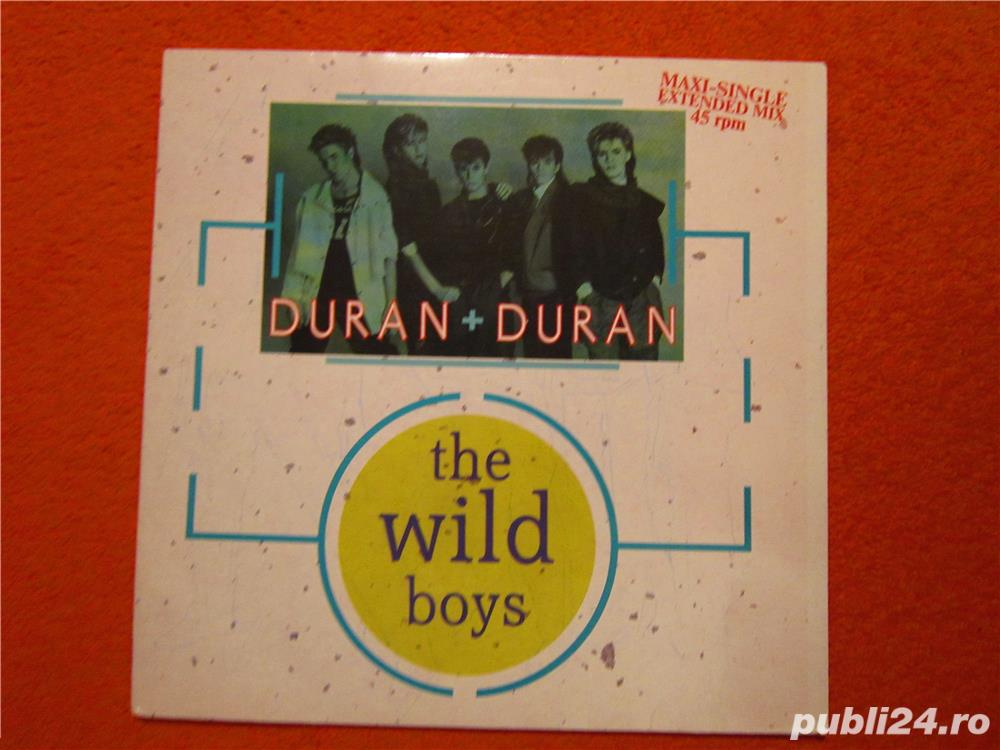 vinil Duran Duran ‎-The Wild Boys- Maxi-Single Extended Mix