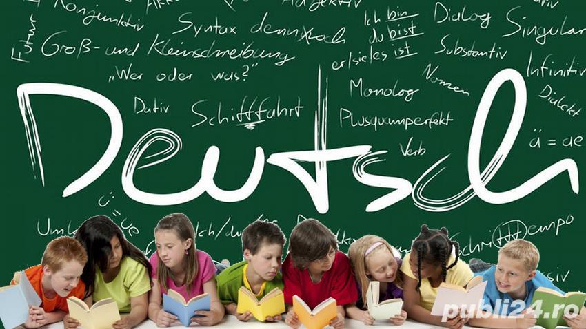 Meditatii limba germana nivel începător/mediu