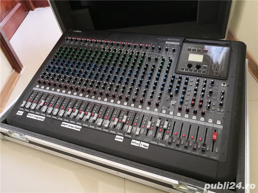 Mixer analog/digital YAMAHA MGP 24 X - 3800 lei URGENT !!!