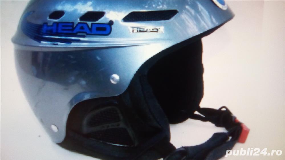 Casca ski head
